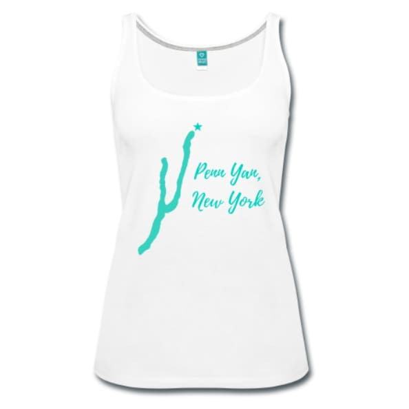 Womens Penn Yan New York Premium Tank Top - Clothing
