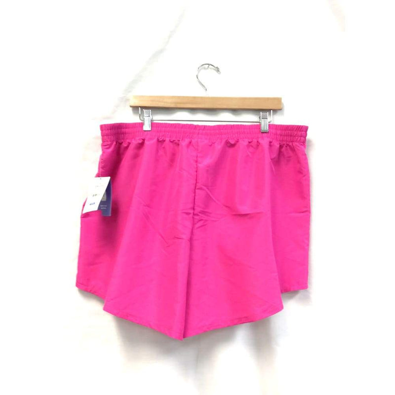 Womens Pink Woven Active Shorts - Womens Activewear