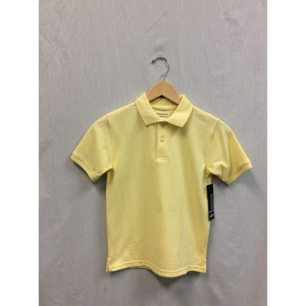 Yellow school uniform ss polo - Keuka Outlet