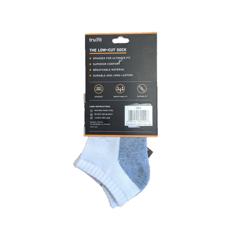 Youth Low-Cut Cushion Socks - Keuka Outlet