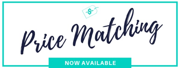 Price Matching Now Available