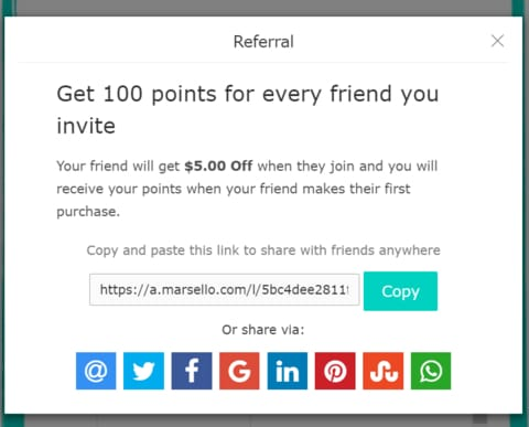 Refer A Friend - Give $5, Get $5!