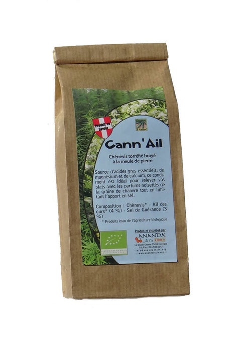Ananda & Cie -- Chanvre & Nature - Cann'Ail (Ail des ours) bio - 6x150g