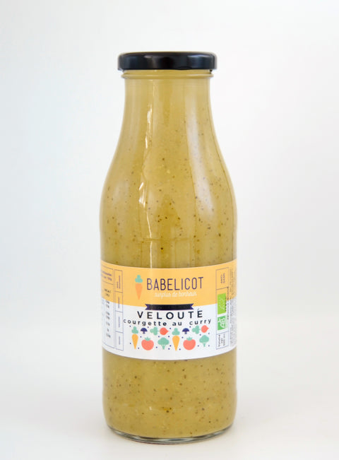 Babelicot -- Velouté de courgette au curry bio - 12x500mL