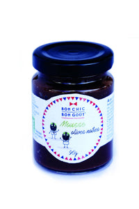 Bon Chic Bon Goût - Mousse tartinable - Mousse d'olives noires bio - 6x90g