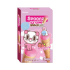 Spoonz Ice Cone Snacks Strawberry Flavor (1 box with 3 bags)