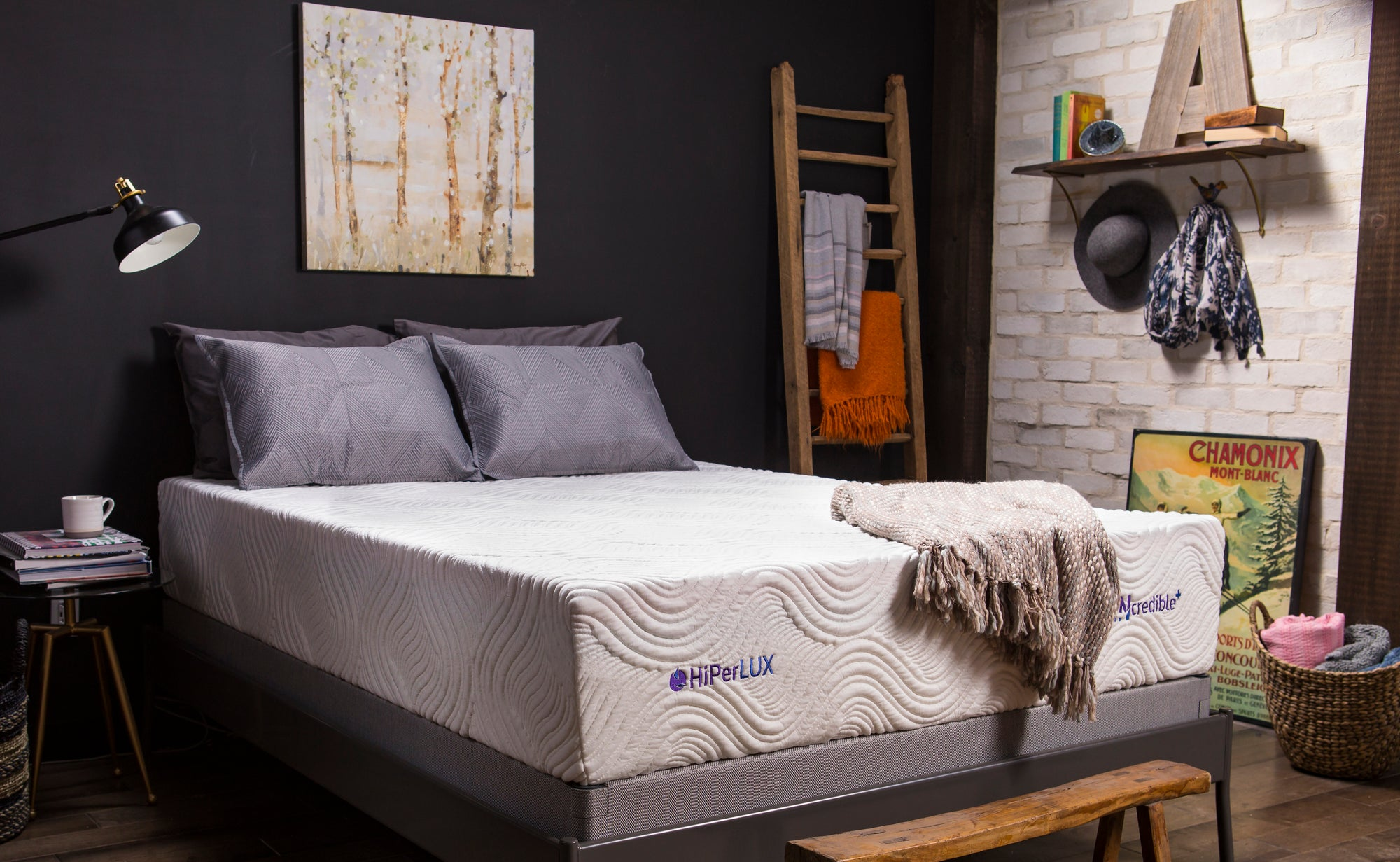 INcredible+ Luxury Firm Mattress Better Sleep Bundle