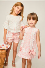 Girls Peach A line Dress