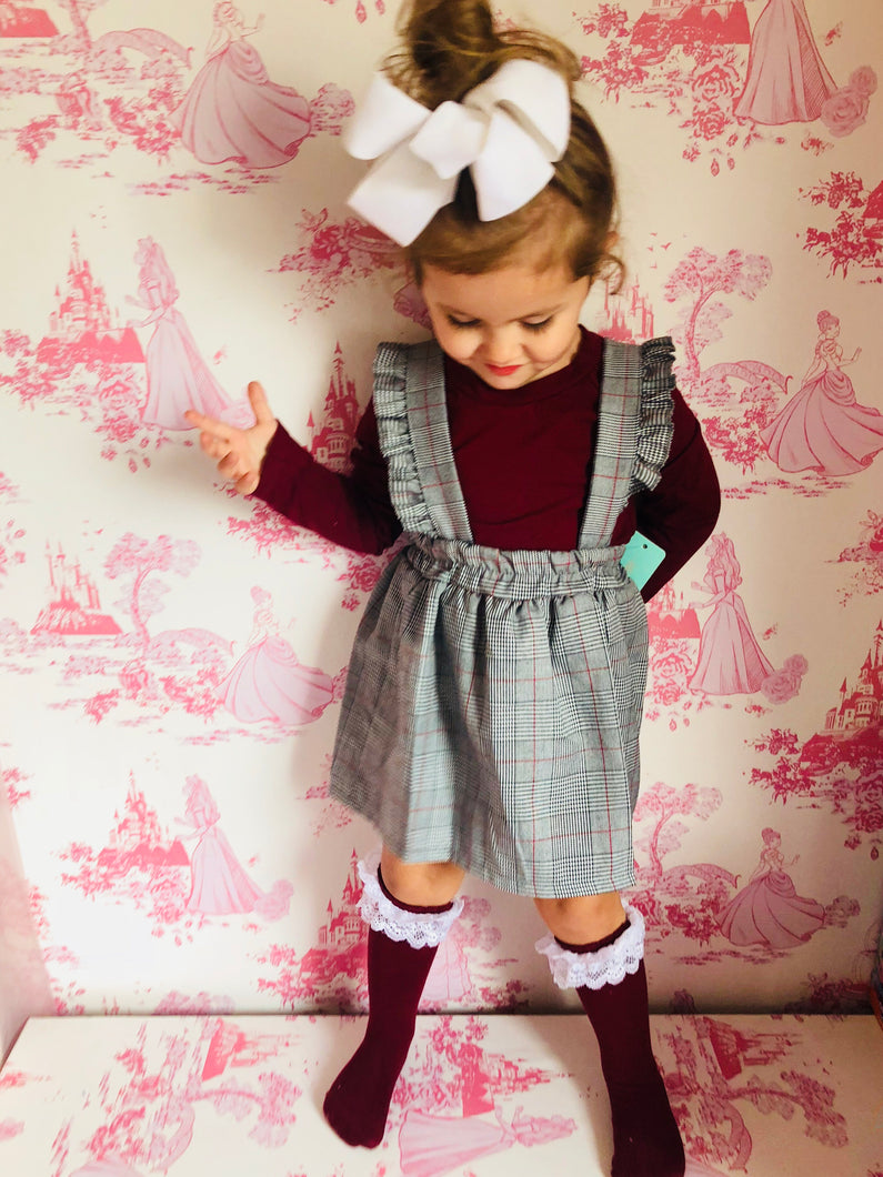 Girls 2 Piece Skirt Set