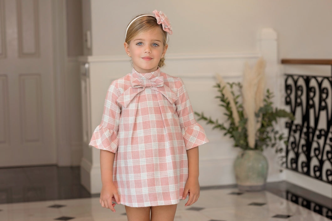 Dolce Petit Check A line Dress