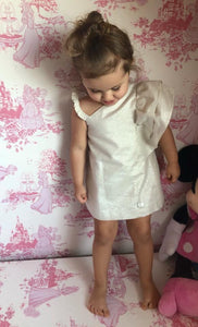 Eve Children Shoulder Glitter Dress