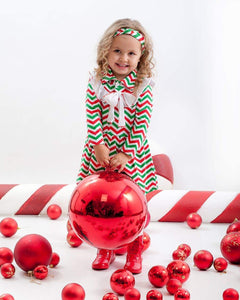 Bella Preciosa Christmas Dress & Headband