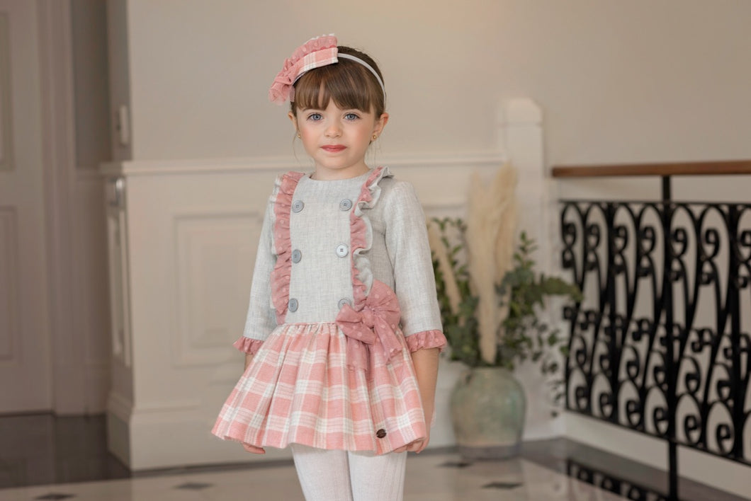 Dolce Petit Check Dress
