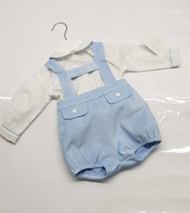 Boys short set & peterpan top