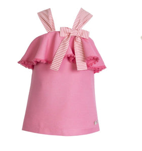 Eve Children Bow Frill Dress