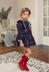 Dolce Petit Christmas Tartan Dress