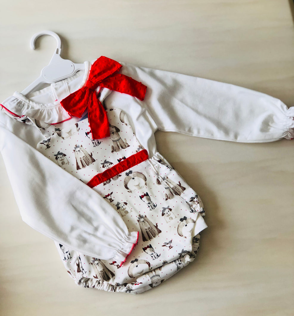 Baby Puppy Romper & Top
