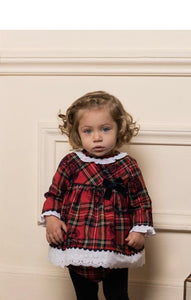 Dolce Petit Red Tartan With Pants