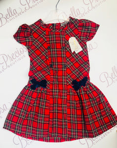 Tartan Big Girl Dress