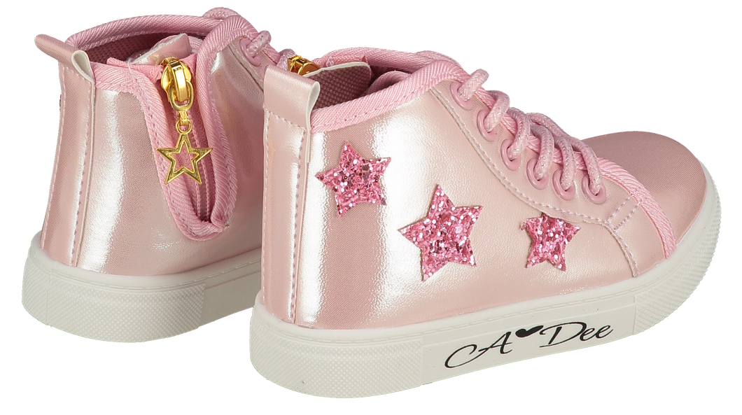 Adee Pink Star Boots