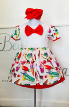 Ice-Cream Bow Dress