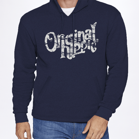 Original Hippie® - Sweatshirt Hoodie Unisex - Midnight Blue