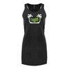 Original Hippie™ Women's Black Racerback Tank Dress
