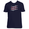 Original Hippie - 1776 American Flag - Unisex Short Sleeve T-shirt
