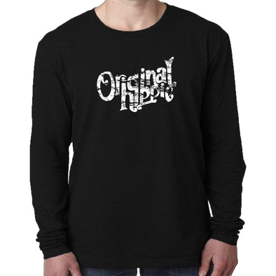 Original Hippie™ - Classic Long Sleeve Tri-Blend Black