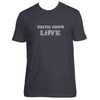 Original Hippie® - Faith Hope Love Short Sleeve T-Shirt - Heavy Metal