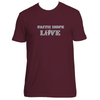 Original Hippie® - Faith Hope Love Short Sleeve T-Shirt - Maroon