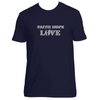 Original Hippie® - Faith Hope Love Short Sleeve T-Shirt - Midnight Navy