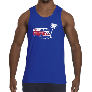 Original Hippie - Hippie Spirit Van - Men's Tank Top - Royal Blue
