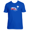 Original Hippie - Hippie Spirit Van - Unisex Short Sleeve Tee - Royal Blue