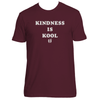 Original Hippie® - Kindness Is Kool - SS T-Shirt - Maroon