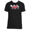 Original Hippie - Palm Tree Name - Black Short Sleeve T-Shirt