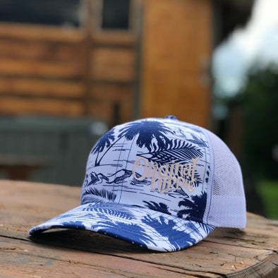 Original Hippie - Palm Trees and Paradise Snapback Trucker Hat
