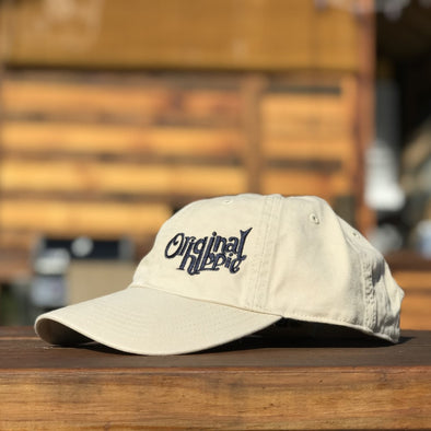 Original Hippie™ - Washed Chino Cap - Stone