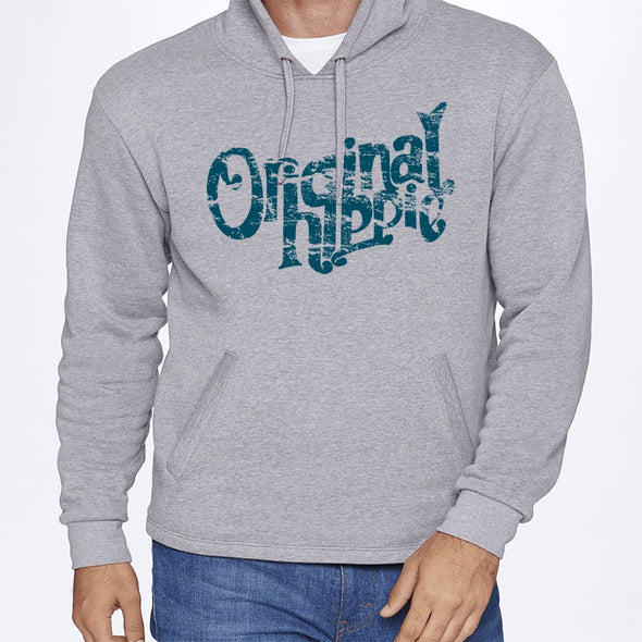 Original Hippie® - Sweatshirt Hoodie Unisex - Heathered Grey