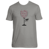 Original Hippie® - Wine Down Short Sleeve T-Shirt - Warm Grey
