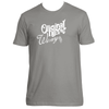 Original Hippie™ - Winery White Name SS T-Shirt - Warm Grey