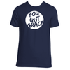 Original  Hippie - You Got Grace - Unisex SS T-Shirt -  Navy Blue