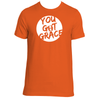Original  Hippie - You Got Grace - Unisex SS T-Shirt -  Orange
