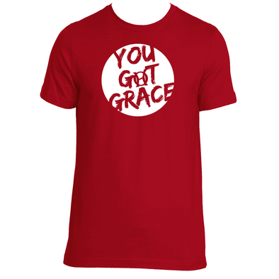 Original  Hippie - You Got Grace - Unisex SS T-Shirt -  Red
