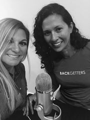 Founder Christina Williams interviewing for podcast with Coryn Quester