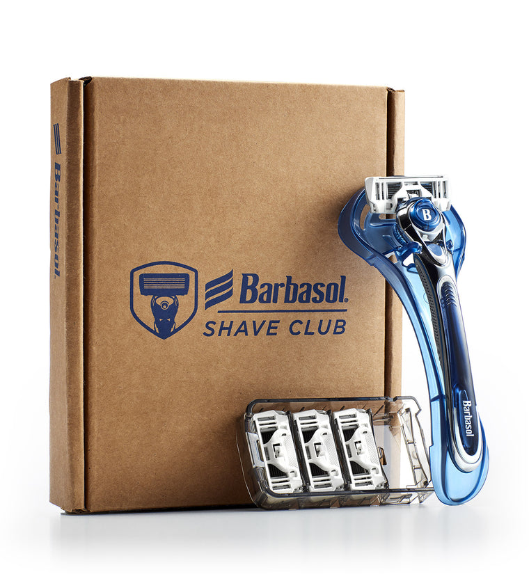 Barbasol Shave Club Starter Kit