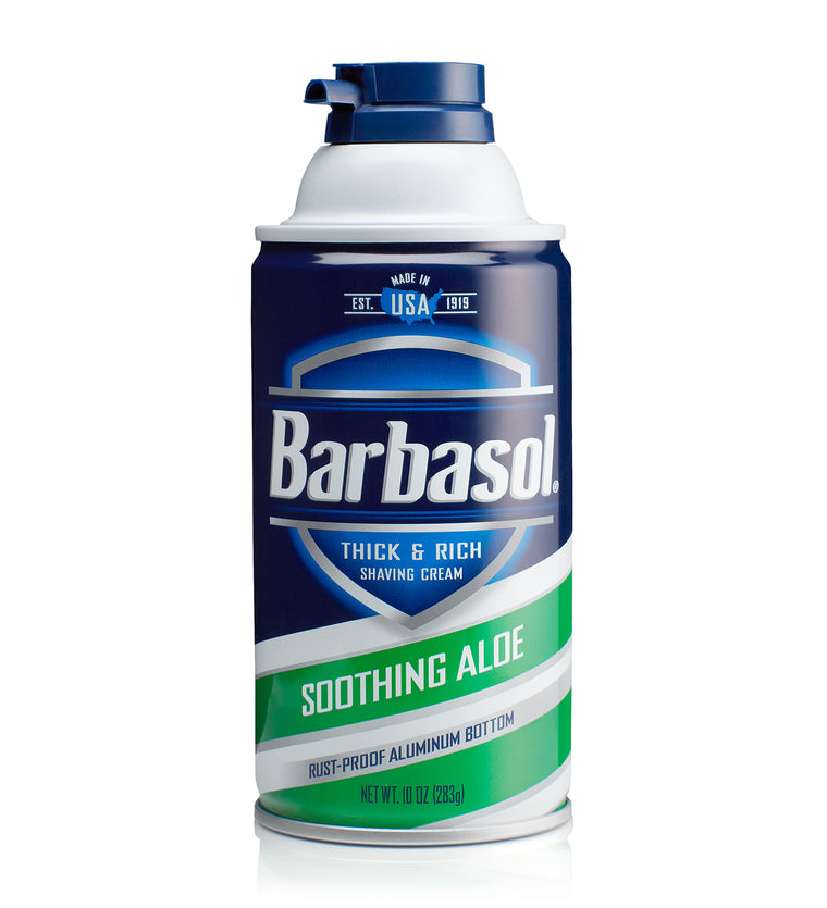 Barbasol Soothing Aloe Thick & Rich Shaving Cream