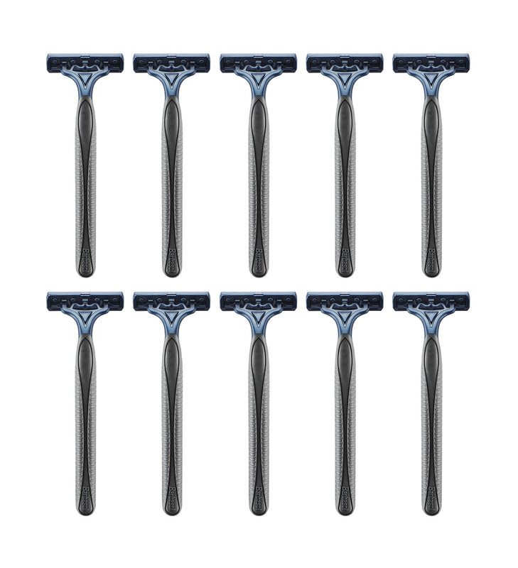 Barbasol Pivot Twin Premium Disposable Razors, 10 Count