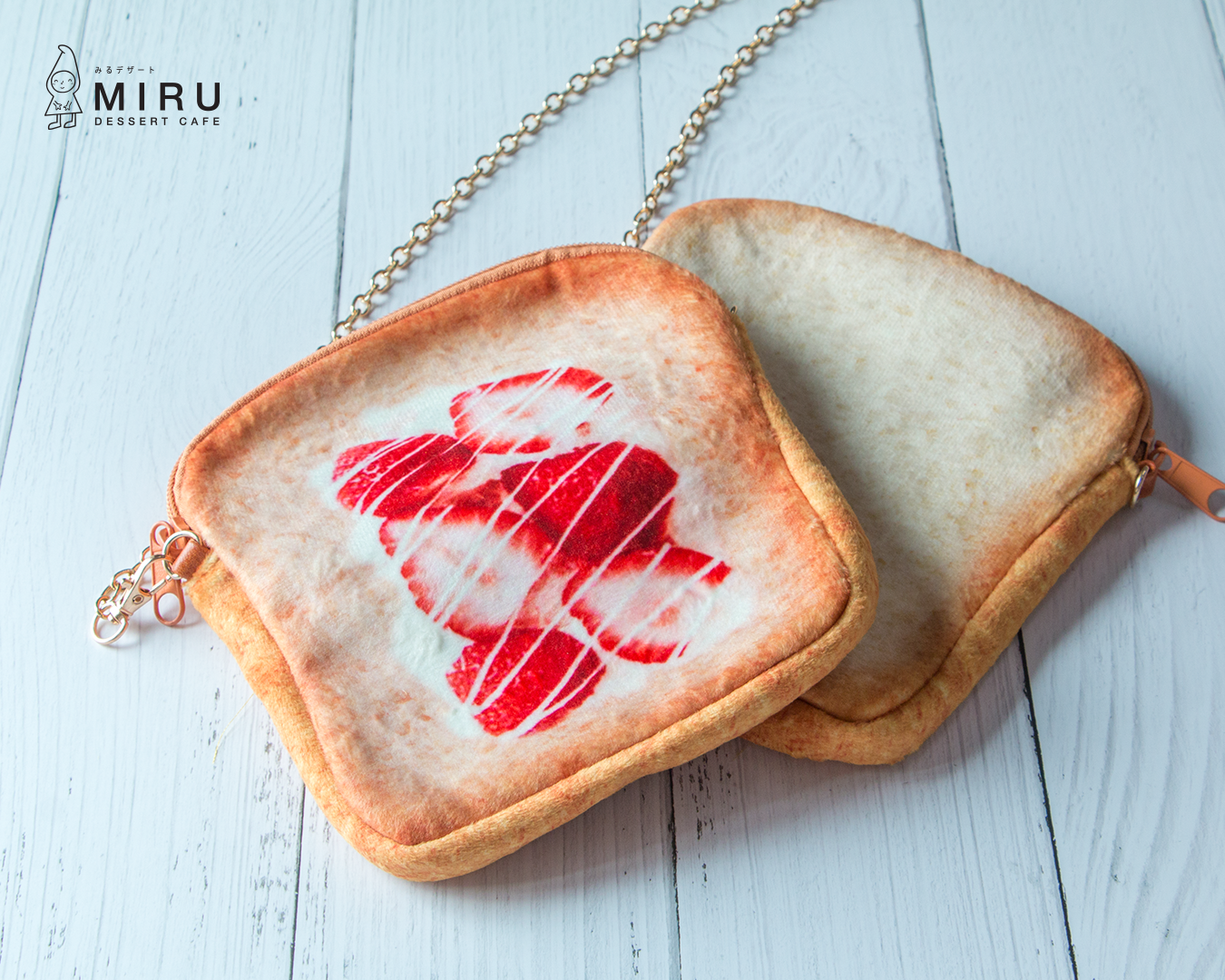 Strawberry Cream Toast Bag (With Chain)