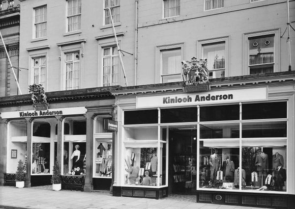 Kinloch Anderson's First Ready-to-Wear Shop in Edinburgh